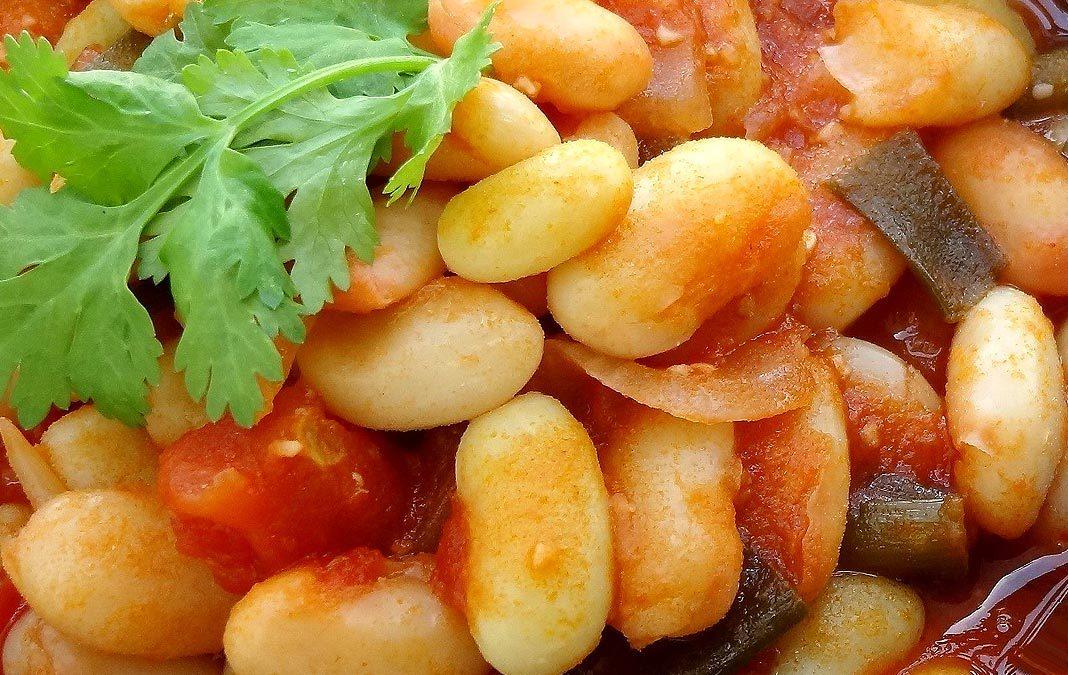 Recette des mogettes à la tomate