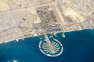 Palm Island à Dubaï