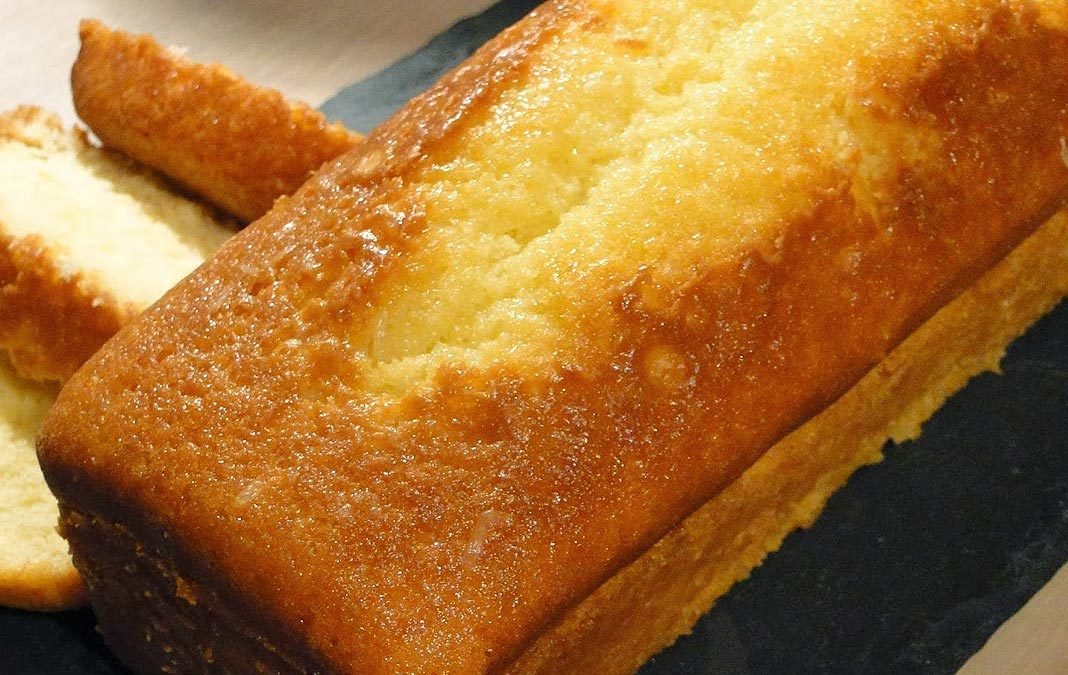 Cake au citron à la façon de Pierre Hermé
