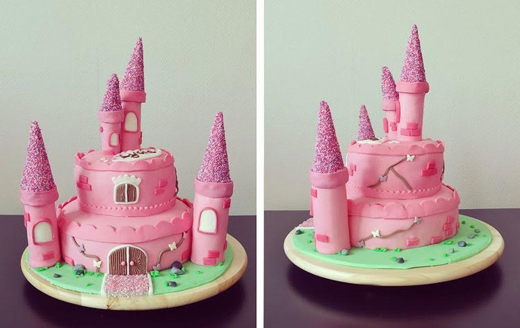 Le gâteau rose de Princesse