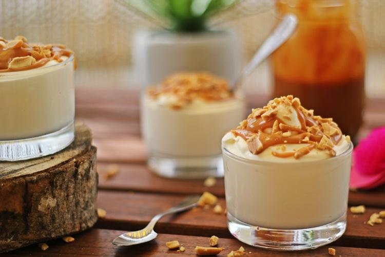 Sundae caramel maison sans sorbetière