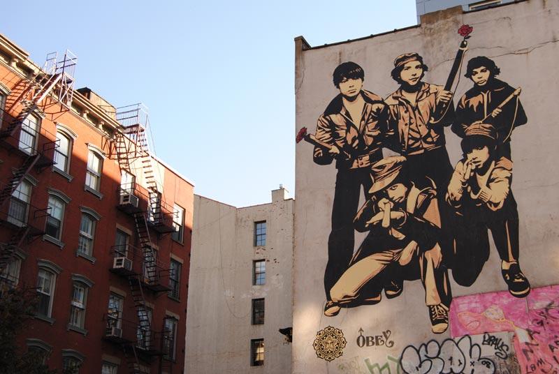 Obey Street art à Soho